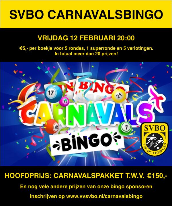 Carnavalsbingo