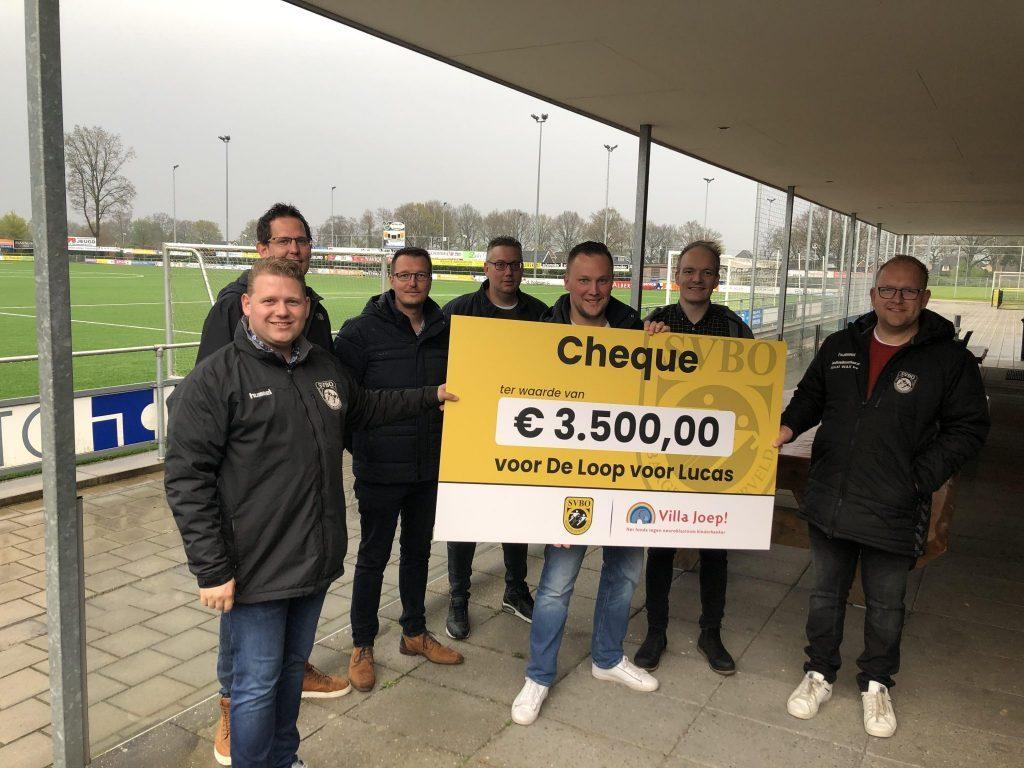 SVBO haalt € 3.500 op voor de Loop voor Lucas